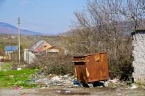 Albanien ist sehr dreckig