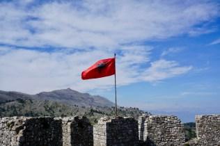 Landesfahne Albanien