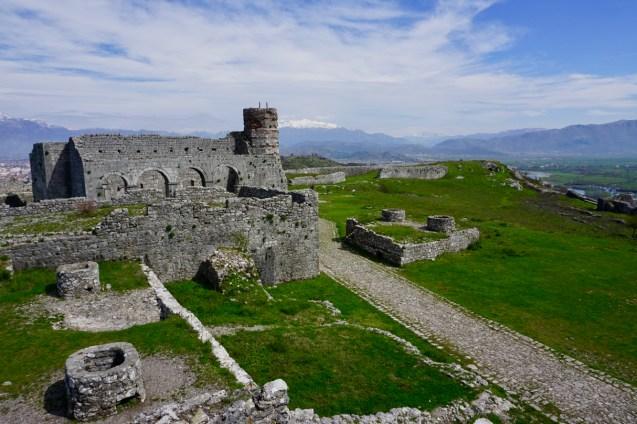 Große Burganlage in Albanien