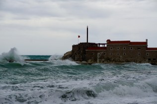 Schlechtes Wetter in Petrovac