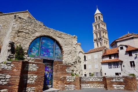 Palast-Turm in Kroatien