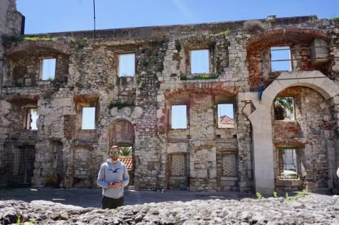 Stadtmauer in Kroatien