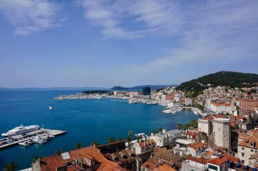 Hafen an der Adria