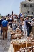 Touristen & Souvenirstände