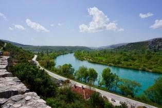 Neretva fließt durch Herzegowina
