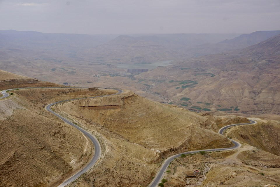 Highway in Jordanien