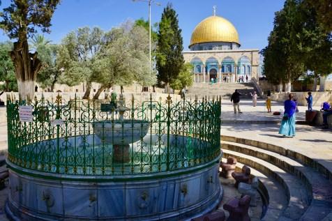 Gebetsstätte in Jerusalem