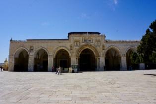 In Jerusalem steht die bekannte al-Aqsa-Moschee