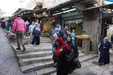 Einkaufen in Jerusalem