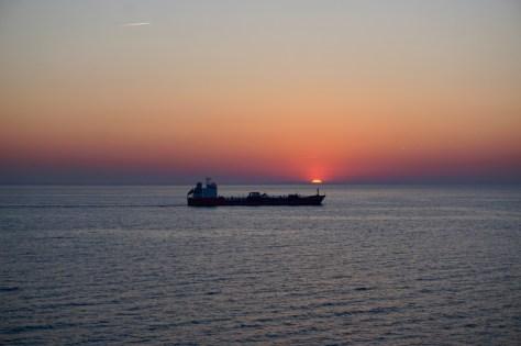 Tag auf See geht zu Ende