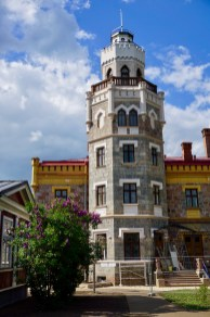 Historischer Burgturm