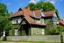 Holzhaus in Estland