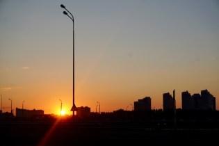 Sonnenuntergang im Juli