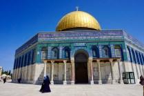 Jerusalems Felsendom auf dem Tempelberg