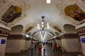 """Metrostation """"Kievskaya"""" Moskau"""