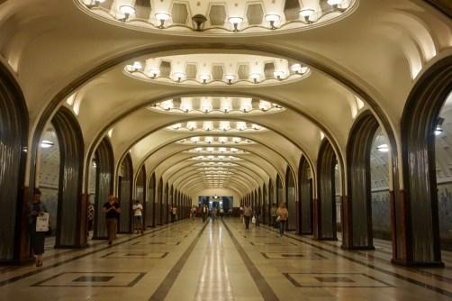 """Metrostation """"Mayakovskaya"""" Moskau"""