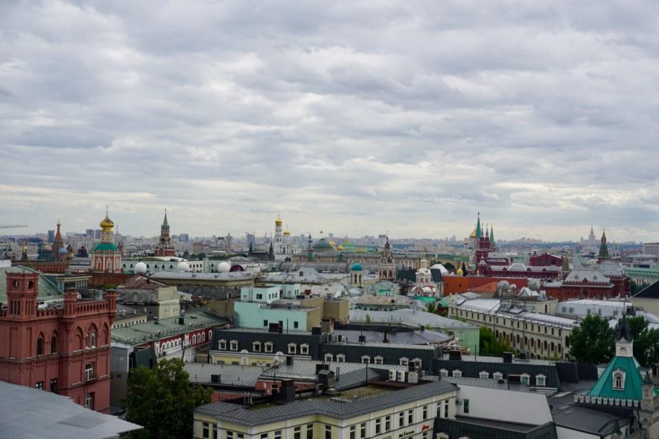 Moskau von oben