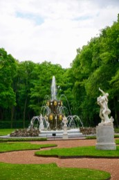 Parkanlage mit Springbrunnen