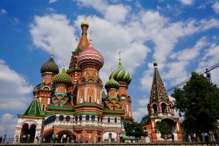 St. Basilica Kathedrale Russland
