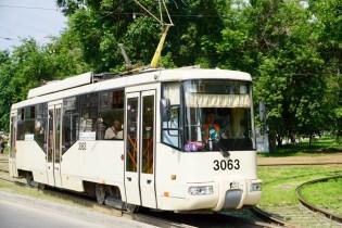 Straßenbahn in Sibirien