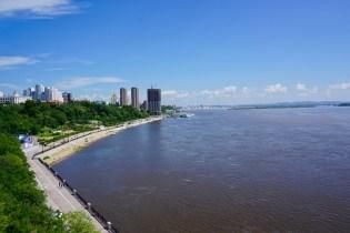 Fluss Amur bei Chabarowsk