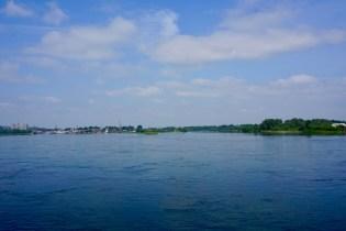 Angara River im Juli