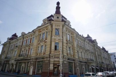 Prachtvolle Gebäude in Sibirien