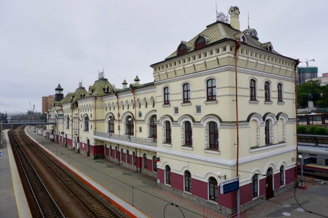 Bahnhof in Wladiwostok