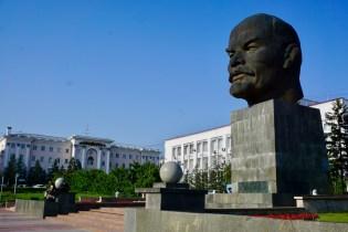 Lenin-Statue in Ulan-Ude