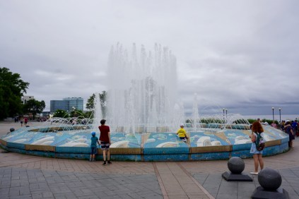 Springbrunnen in Russland