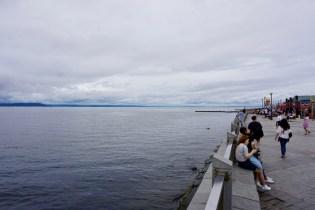 Uferpromenade in Russland