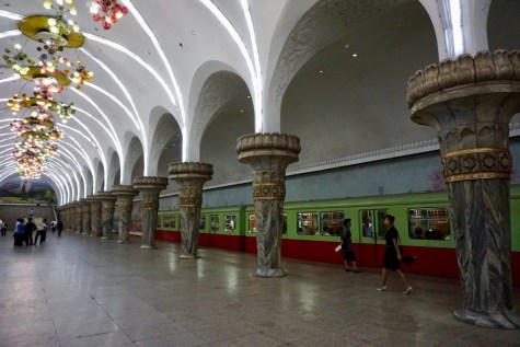 Metrostation in Nordkorea