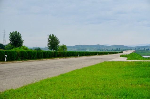Highway in Nordkorea