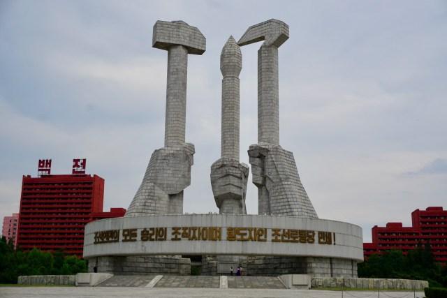 Denkmal in Nordkorea