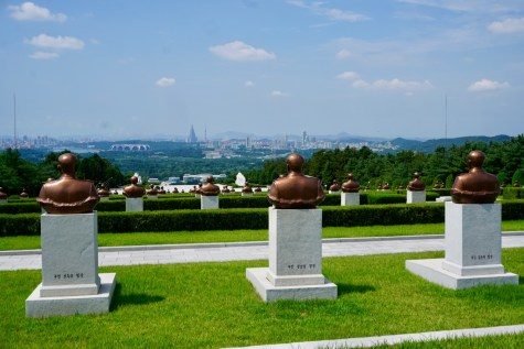 Friedhof der Revolutionshelden in Pjöngjang