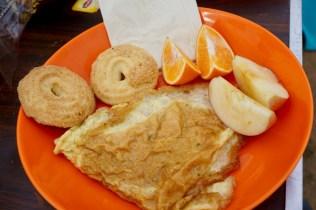Frühstück für Touristen