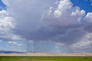 Gewitterwolken im August
