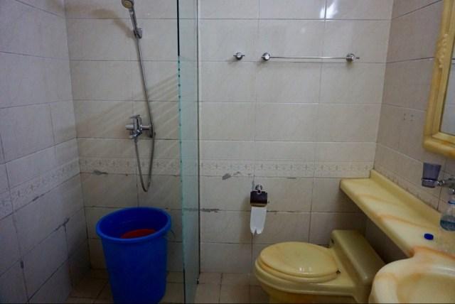 Hotel ohne fließend Wasser
