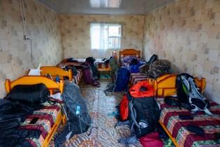 Hotelzimmer in der Mongolei