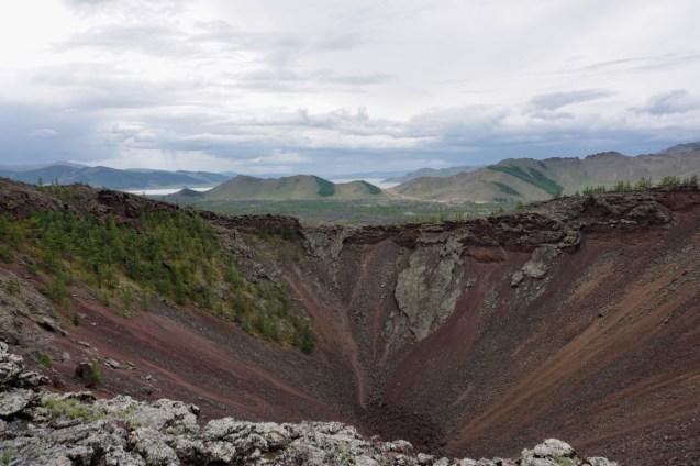Vulkan-Krater
