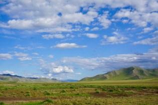 Berge in der Mongolei