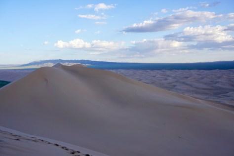 100 Meter hohe Dünen in der Gobi-Wüste