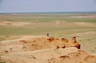 Flaming Cliffs in der Gobi-Wüste