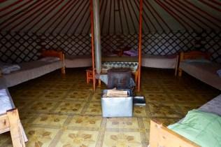 Ger-Zelt in der Mongolei