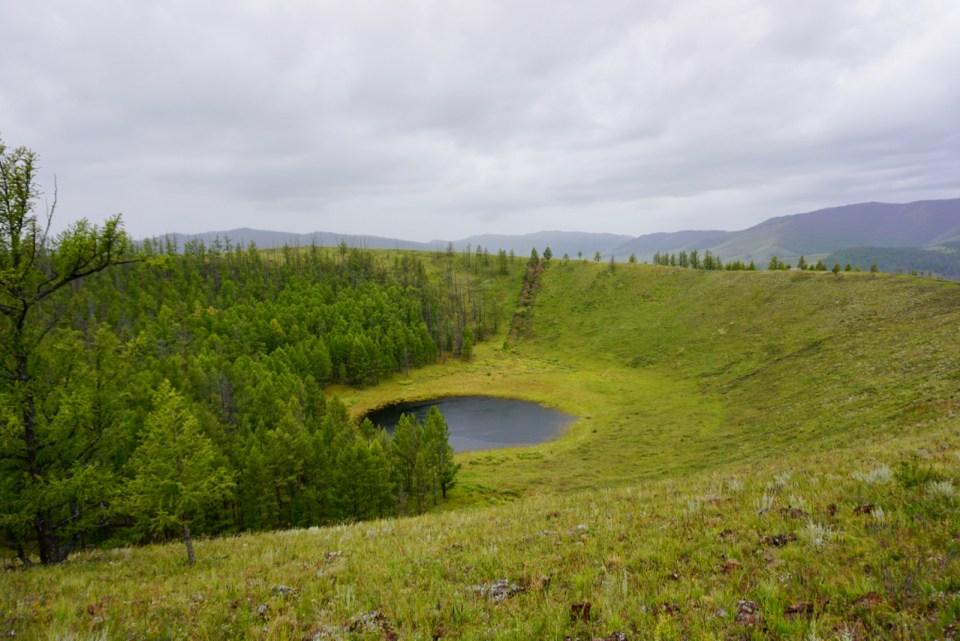 Mongolei Vulkan Uran Togoo