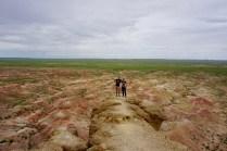 Gruppenfoto in der Gobi