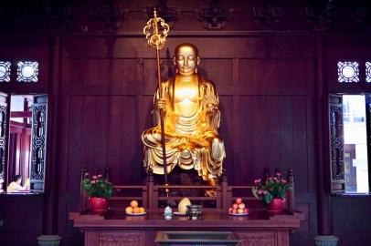 Buddha Figur in Shanghai
