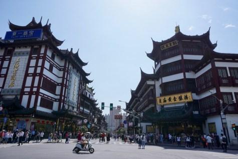Einkaufsstraße in Shanghai