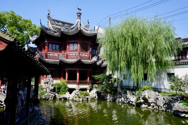 Pavillion in Shanghai