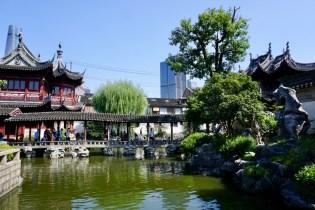 Garten in Shanghai